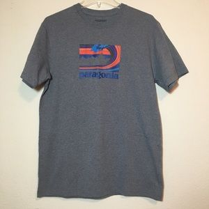 Patagonia Graphic Tee NWOT Recycled Materials M